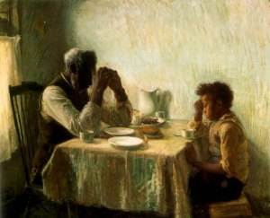"Henry O.Tanner's ""Thankful Poor"""