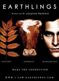 Earthlings was narrated by Joaquin Phoenix