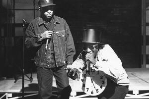 Chuck D & Flavor Flav of Public Enemy [Al Pereira/Michael Ochs Archives/Getty Images]