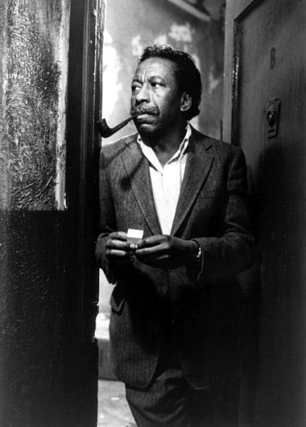 "Gordon Parks on the set of his hit film ""Shaft"" (1970)"