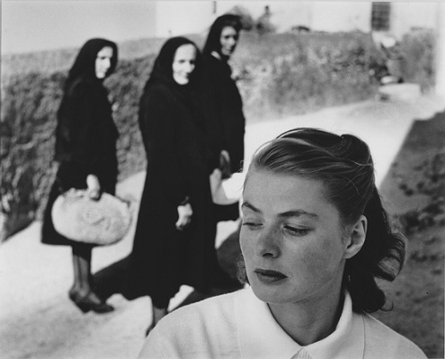 Ingrid Berman on Stromboli (Gordon Parks)
